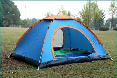 6 Persons Manual Waterproof Uv Outdoor Ultralight Camping Tent With Carry Bag Topgears Pk